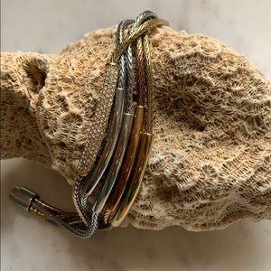 Fossil TriColor Magnet Bracelet